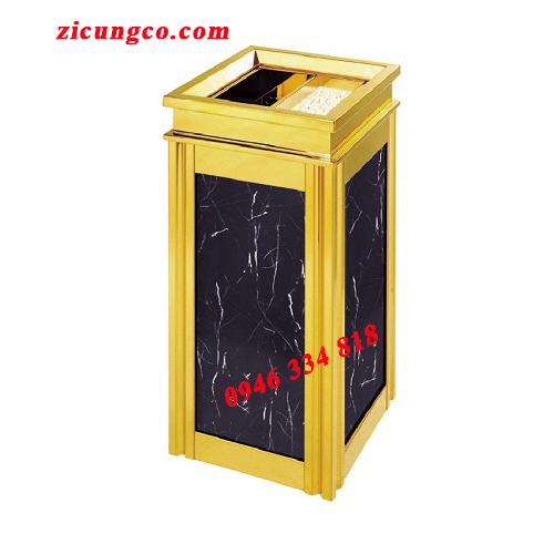 hình ảnh tổng quan sản phẩm thùng rác sảnh